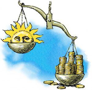 Ls energía solar el más barata