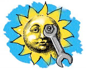 El mantenimiento de instalaciones solares